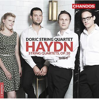 Haydn / Doric Quartet - Str Qrts 1 [CD] USA import