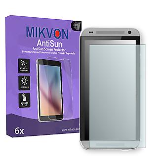 HTC Desire 601 CDMA Screen Protector - Mikvon AntiSun (Retail Package with accessories)