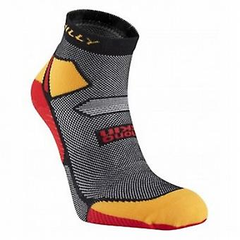 Skyline Anklet Running Socks Black/Yellow/Red