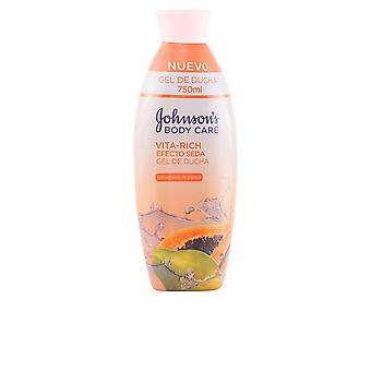 Johnson's Vita Rich Efecto Seda Papaya Gel Ducha 750ml Unisex New