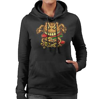 Curse Of The Burger Women's Hooded Sweatshirt