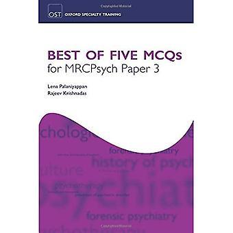 Best of fünf MCF für Beendigung Papier 3 (Oxford Facharztausbildung: Revision Texte)