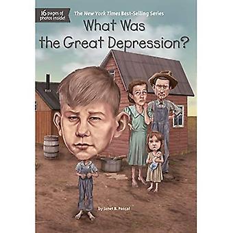 Quelle a été la grande dépression?