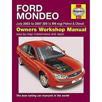 Ford Mondeo benzine & Diesel 03-07 (Haynes Service en reparatie handleidingen)