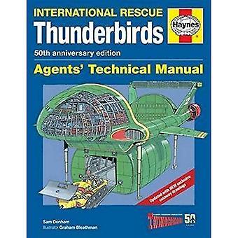 Thunderbirds 50e verjaardag handleiding (agenten Technical Manual)