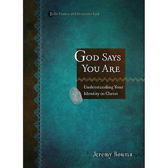Dieu dit que vous êtes: comprendre votre identité en Christ