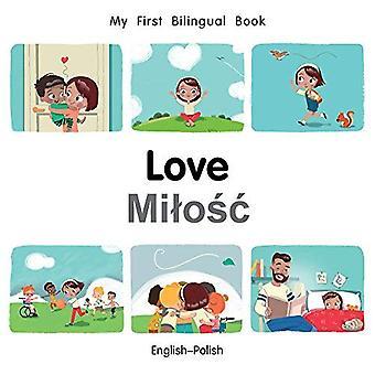 Min första tvåspråkiga bok-kärlek (engelska-polska) (min första tvåspråkiga bok) [styrelse bok]
