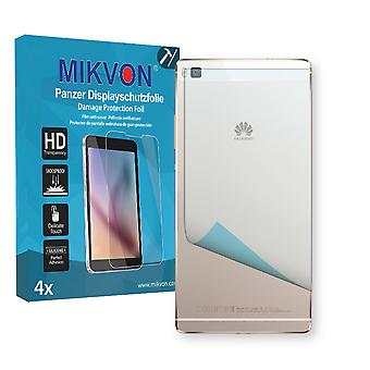 Huawei P8 reverse Screen Protector - Mikvon Armor Screen Protector (Retail Package with accessories)