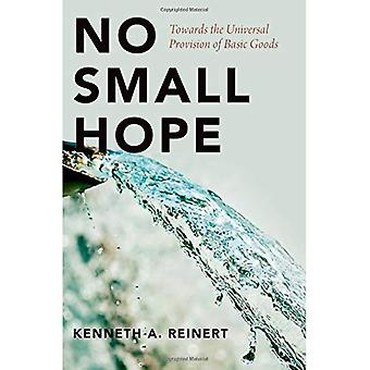 No Small Hope: Towards the� Universal Provision of Basic Goods