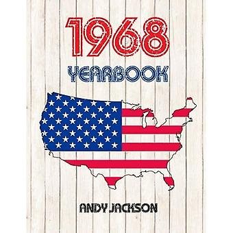 Annuaire des États-Unis 1968: intéressant Original livre plein de faits et chiffres de 1968 - cadeau d'anniversaire Unique ou anniversaire idée présente!