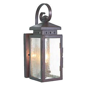 Hythe væg lanterne - Elstead belysning