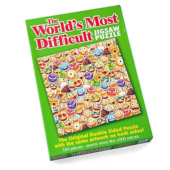 World's Most Difficult Jigsaw Puzzle - Emojis (529 Pieces)