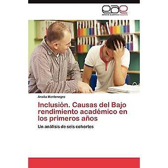 Inclusion. Causas del Bajo Rendimiento Academico En Los Primeros Anos by Montenegro & Analia