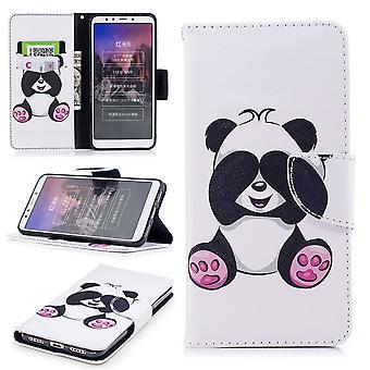 Voor Samsung Galaxy A50 6.4 inch faux leder tas boek motief 33 mouw gevaldekking beschermingsetui nieuwe