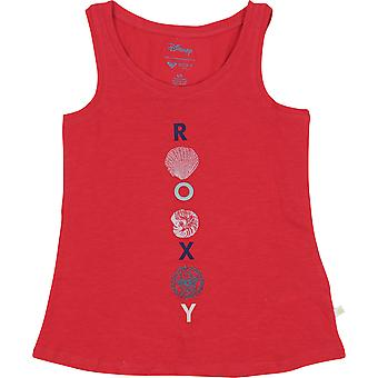 Garota Roxy x Disney pequena sereia aí é vida Tank Top - Rococco vermelho