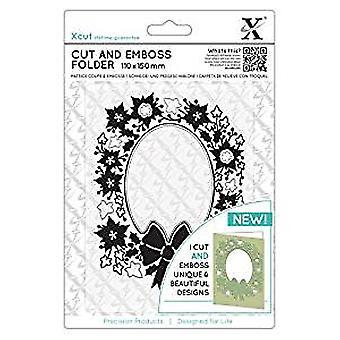 Xcut Cut & Emboss Folder Wreath Aperture (XCU 503943)