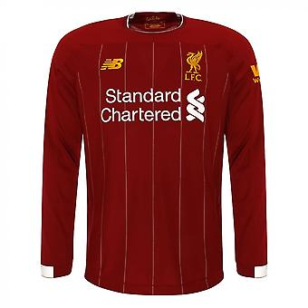 2019-2020 Liverpool Home Long Sleeve Shirt