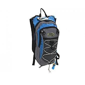 Summit 2L 2 Section Hydration Backpack with Bladder Blue