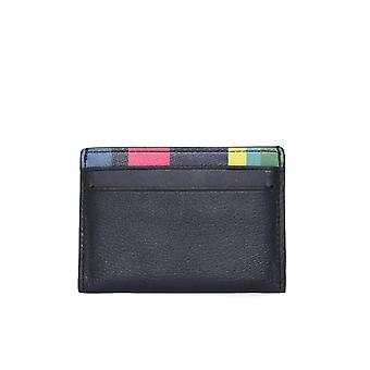 PS Paul Smith PS Stripe Black Card Holder