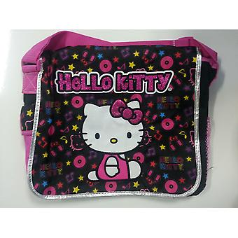 Messenger Bag - Hello Kitty - Musical Black Gifts Toys School New Gifts 828216