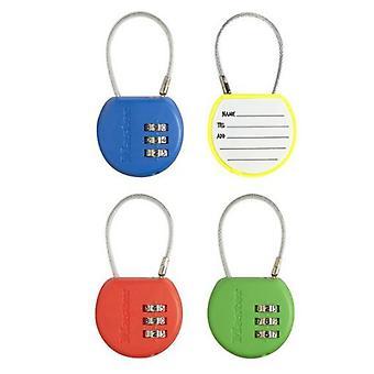 Masterlock Dir 42mm Combi padlock Porta Schedule 4 col (DIY , Handwerksmaterial)