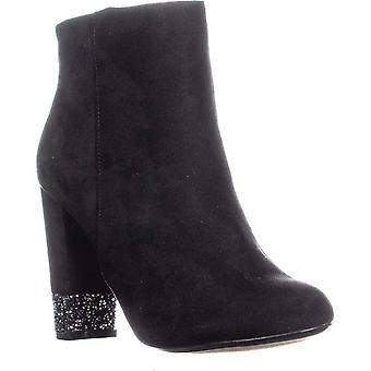 XOXO Yardley Block Heel Ankle Boots, Black