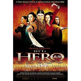 Hero (Single Sided Regular) (2002) Original Cinema Poster