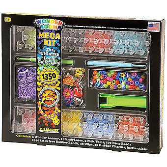 The Ultimate Wonder Loom Mega Kit- 7306