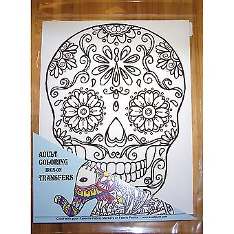 Sugar Skull Coloring Transfer-9