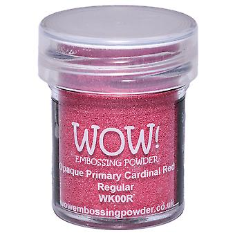 Wow! Embossing Powder 15Ml Cardinal Red Wow Wk00r