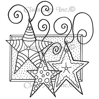 Class Act Cling Mounted Rubber Stamp 4