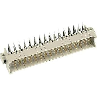 Harting 09 06 148 7901 Male Connector - Type F Angled soldering pins