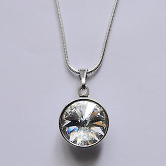 Pendant necklace with crystal PMB 2.4