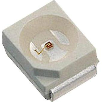 SMD LED PLCC2 Red 100 mcd 120 ° 20 mA 1.7 V LUMEX