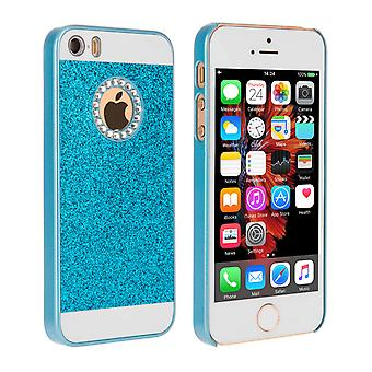 Yousave Accessories iPhone SE Flash Diamond Case  Blue