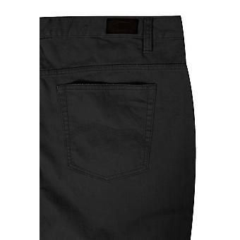 BadRhino Black Bedford Cord Trousers