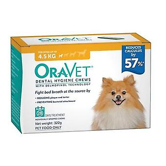 Oravet Dental Chew xsmall 28's