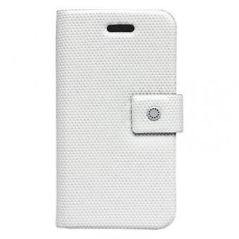 Fenice F01 WD AIP4 Diario cover case iPhone 4 diamond white 4 S