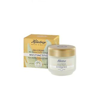 Heliotrop 24H Active Cream (Woman , Cosmetics , Skin Care , Moisturizing and Nutritious)