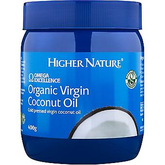 Higher Nature Organic Virgin Coconut Oil 400g