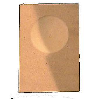 Budgie konkave (pakke med 10)