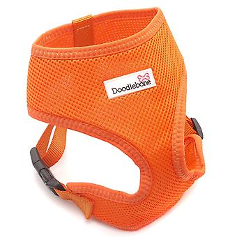 Doodlebone Mesh Harness Orange Medium 36-48cm