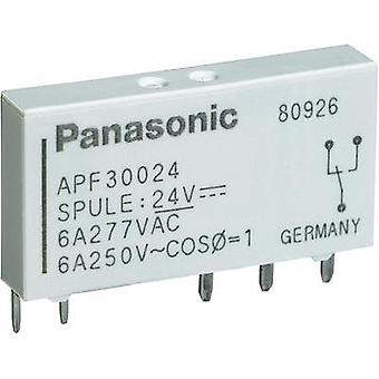 PCB relays 24 Vdc 6 A 1 change-over Panasonic APF3