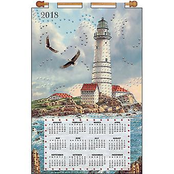 Design Works 2018 Calendar Felt Applique Kit-Soaring Eagle DW4261