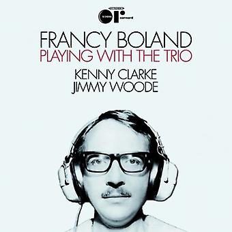 Francy Boland - Playing with the Trio [Vinyl] USA import