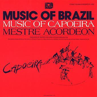 Mestre Acordeon - Music of Capoeira: Mestre Acordeon [CD] USA import