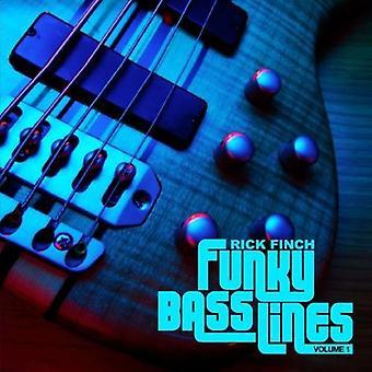 Rick Finch - Rick Finch: Vol. 1-Funky Bass Lines [CD] USA import