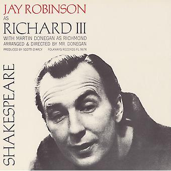 Robinson/Donegan - William Shakespeare: Importazione USA re Richard III [CD]
