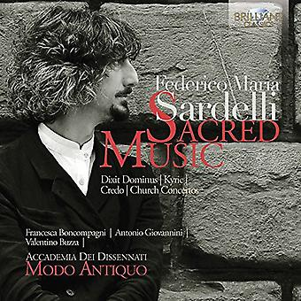 Accademia Dissennati - Sardelli: Sacred Music [CD] USA import