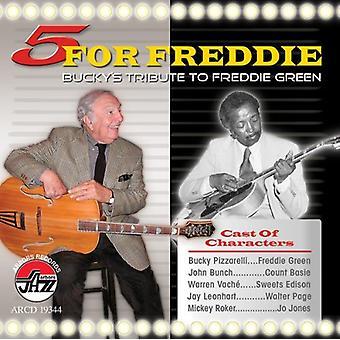 Bucky Pizzarelli - 5 for Freddie: Bucky Pizzarelli [CD] USA import